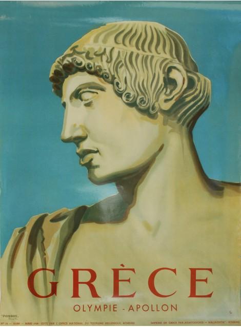 G. Vakirtzis. Grèce Olympie Apollon. 1958.