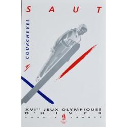 XVIe Jeux Olympiques d'Hiver. Albertville. Saut. 1992.