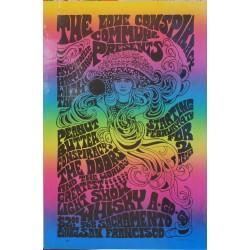 "The Love Conspiracy Commune presents... The Doors..."". Vers 1970."