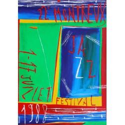 Nicola de Maria. Festival de jazz, Montreux. 1988.