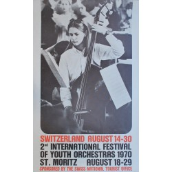 Michael Baviera. 2nd International Festival of Youth Orchestras. 1970.