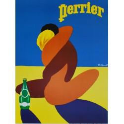 Bernard Villemot. Perrier. 1980.