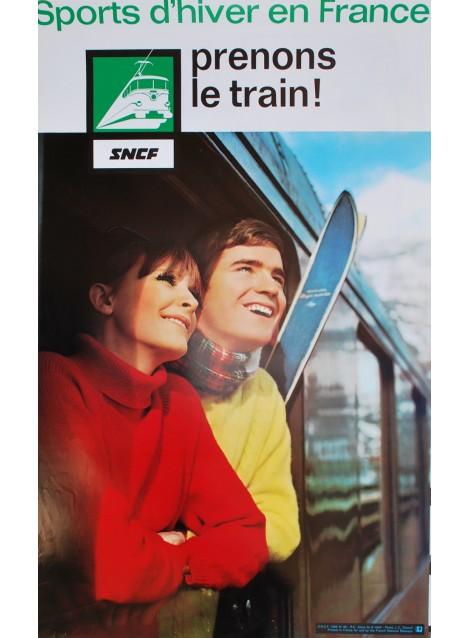 J C Dewolf. Sports d'hiver en France. 1966.