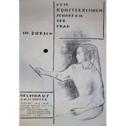 Katharina Sallenbach. Vom Künstlerischen Schaffen der Frau in Zuerich. 1952.