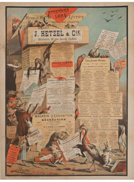 Léon Becker. Hetzel, Etrennes 1884.