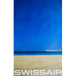 Nikolaus Schwabe. Swissair Mediterranean. 1964.