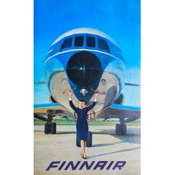 Finnair. Super Caravelle. 1964.