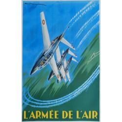 Paul Lengellé. L'Armée de l'air. Circa 1960.