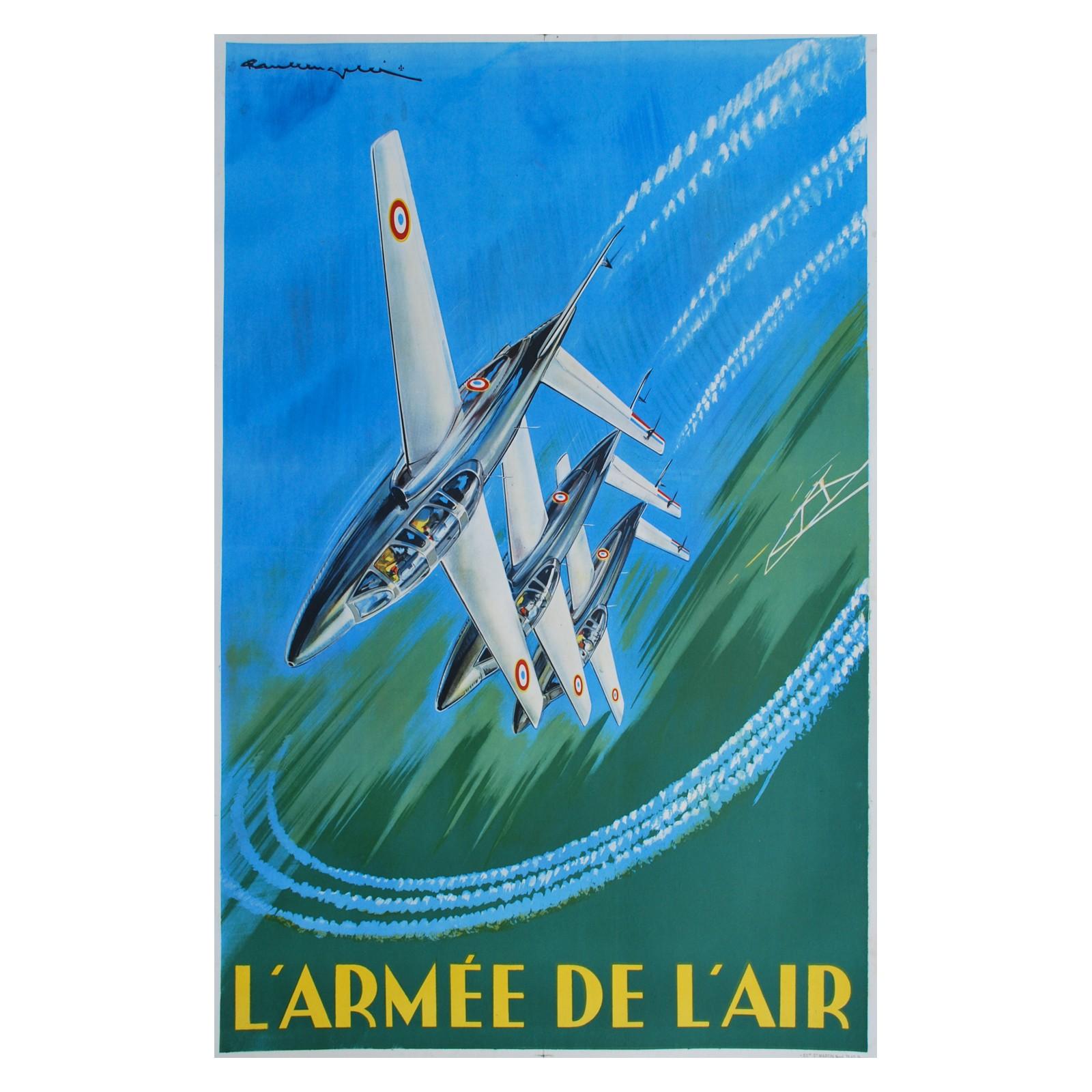 Paul Lengell 233 L Arm 233 E De L Air Circa 1960 Posters We Love