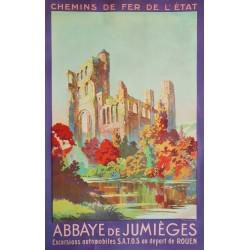 Abbaye de Jumièges. 1931.