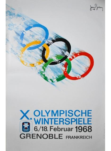 Olympische Winterspiele. Jean Brian. 1968