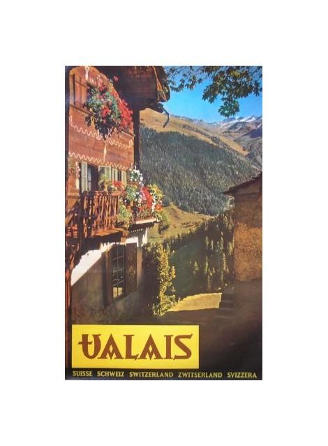 Heinrich Schellenberg. Valais. Circa 1959.