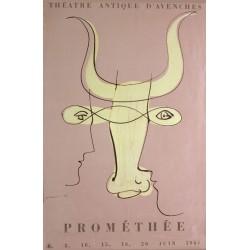 Hans Erni. Prométhée, Avenches. 1946.