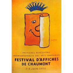 Savignac. Festival d'affiches de Chaumont. 1990.