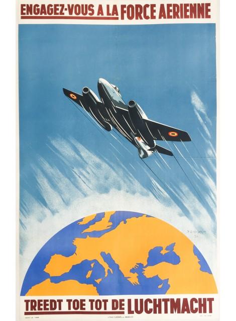 J. Demart. Engagez-vous à la force aérienne. 1951.