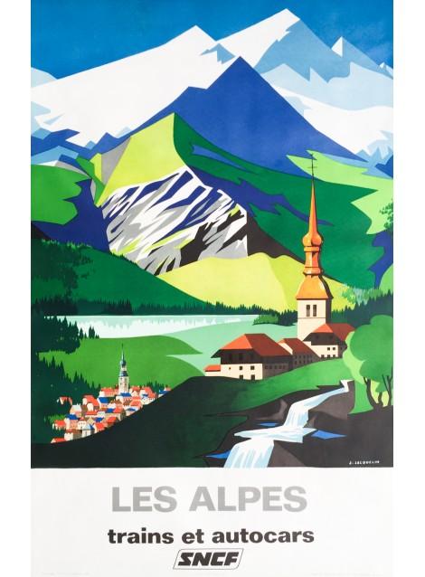Jean Jacquelin. Les Alpes. 1966.