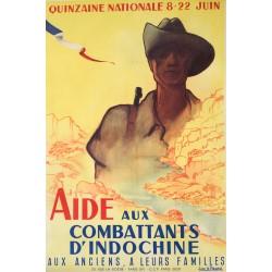 Jean B. Picard. Aide aux combattants d'Indochine. Vers 1950.