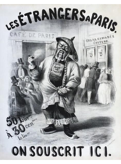 Les étrangers à Paris. 1844.