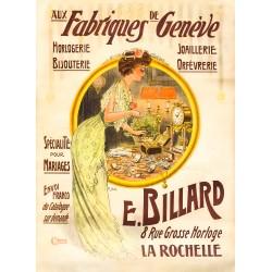Raoul Edward Hem. Aux Fabriques de Genève. Vers 1895.