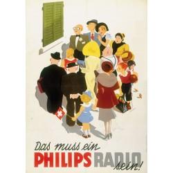 Martin Peikert. Philips Radio. 1937.