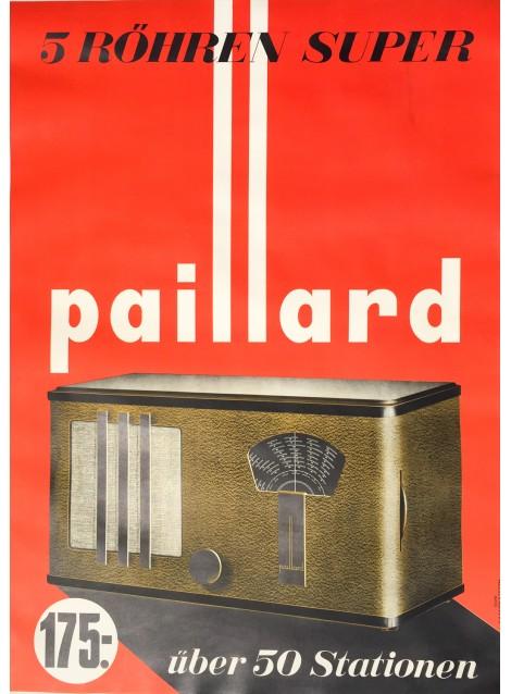 Paillard. Vers 1935.