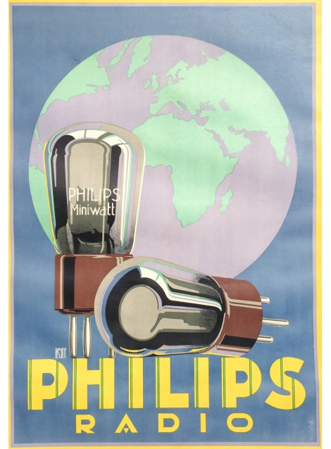 Louis Christian Kalff. Philips Miniwatt Radio. 1928.