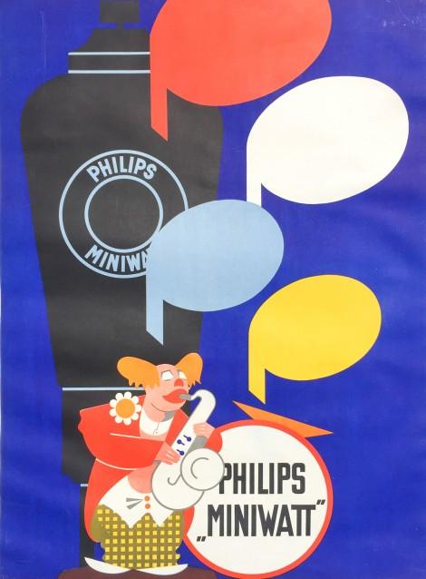 Philips Miniwatt. Ca 1930.