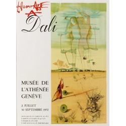 Salvador Dali. Hommage à Dali, Genève. 1970.