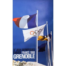 Constantin. Xèmes Jeux olympiques d'hiver, Grenoble. 1968.