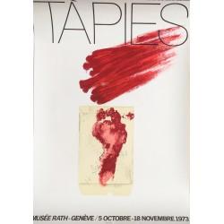 Antoni Tàpies. Genève, Musée Rath. 1973.