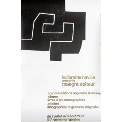 Eduardo Chillida. Maeght Editeur, Genève. 1972.