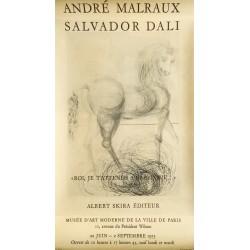 Salvador Dali. André Malraux. Roi, je t'attends à Babylone. 1973.