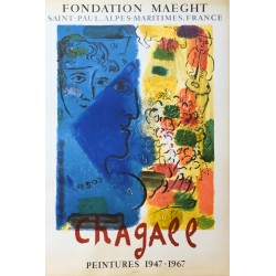 Marc Chagall. Fondation Maeght. 1967.
