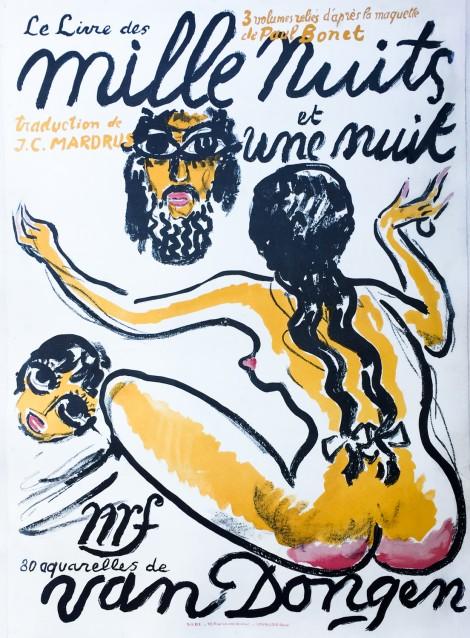 Kees van Dongen. Mille nuits et une nuit. 1955.