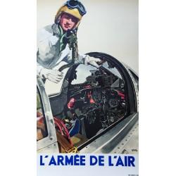 Yves Delfo. L'Armée de l'air. Vers 1955.