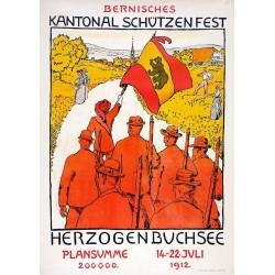 Cuno Amiet. Schützenfest Herzogenbuchsee. 1912.