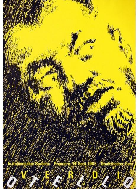Heinz Jost. Otello. 1985.