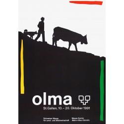 Andreas Tschachtli. Olma. 1991.
