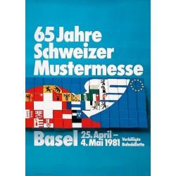 Humbert & Vogt. Mustermesse Basel. 1981.
