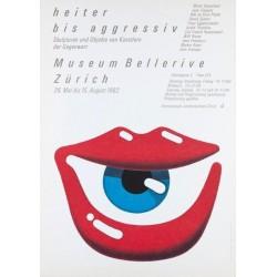 Martin Diethelm. Heiter bis aggressiv. 1982.