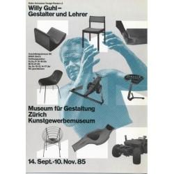 Jürg Hamburger. Georg Staehelin. Willy Guhl, Gestalter und Lehrer. 1985.