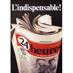 Claude Pérusset. 24 Heures. 1981.