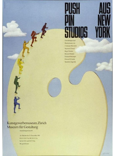 Richard Mantel. Push Pin Studios aus New York. 1981.