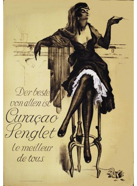 Ernst Busch. Curaçao Senglet. 1910.