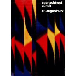 Ursula Bèächer. Seenachtfest Zürich. 1972.