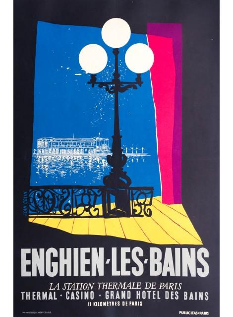 Publicitas (Paris). Enghien-les-Bains. Ca 1950.
