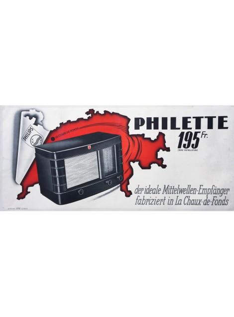 Philette Philips, La Chaux-de-Fonds. Vers 1935.