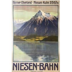 Anton Reckziegel. Niesen-Bahn. 1910.