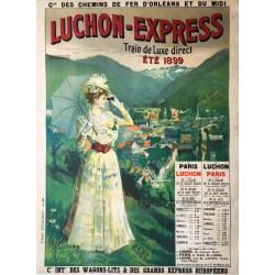 Rafael de Ochoa y Madrazo. Luchon-Express. 1899.