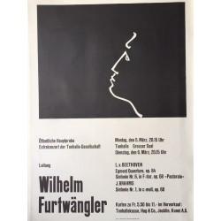 Josef Müller-Brockmann. Wilhelm Furtwängler. 1951